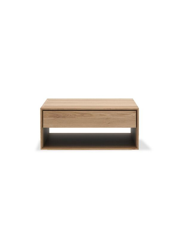 Oak Nordic Coffee Table - Square