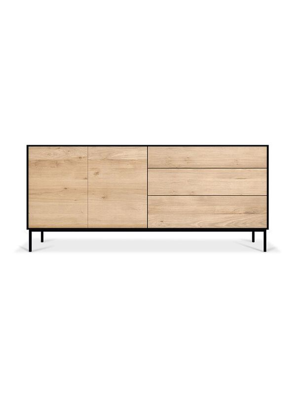 Oak Blackbird Sideboard - 2 Doors, 3 Drawers