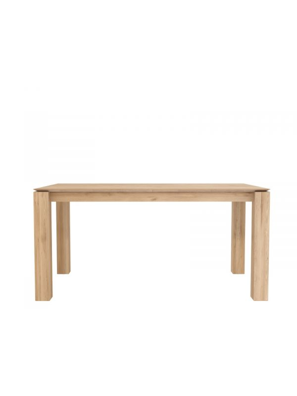 Oak Slice Dining Table
