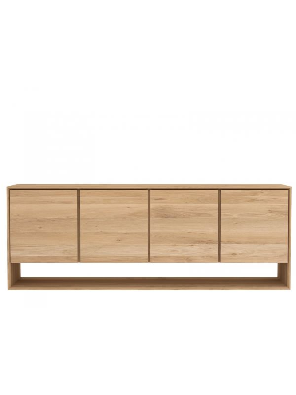 Oak Nordic Sideboard - 4 Doors