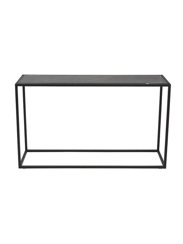 Elle Cube Marble Console