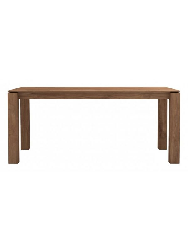 Teak Slice Dining Table